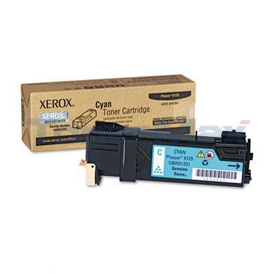 XEROX PHASER 6125 TONER CARTRIDGE CYAN